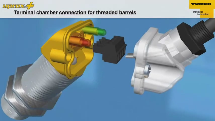 Terminal Chamber Connection for Threaded Barrels